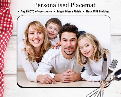 Personalised Placemat N1 - Your Photo / Text / Logo